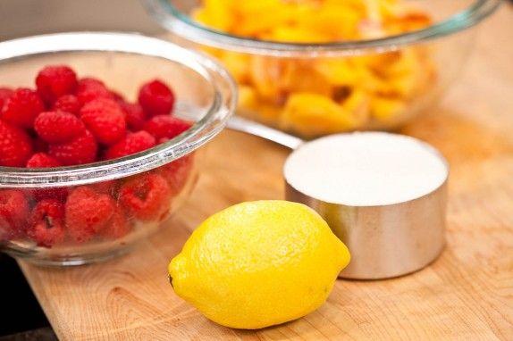 How to Make Raspberry-Peach Jam | The Feed