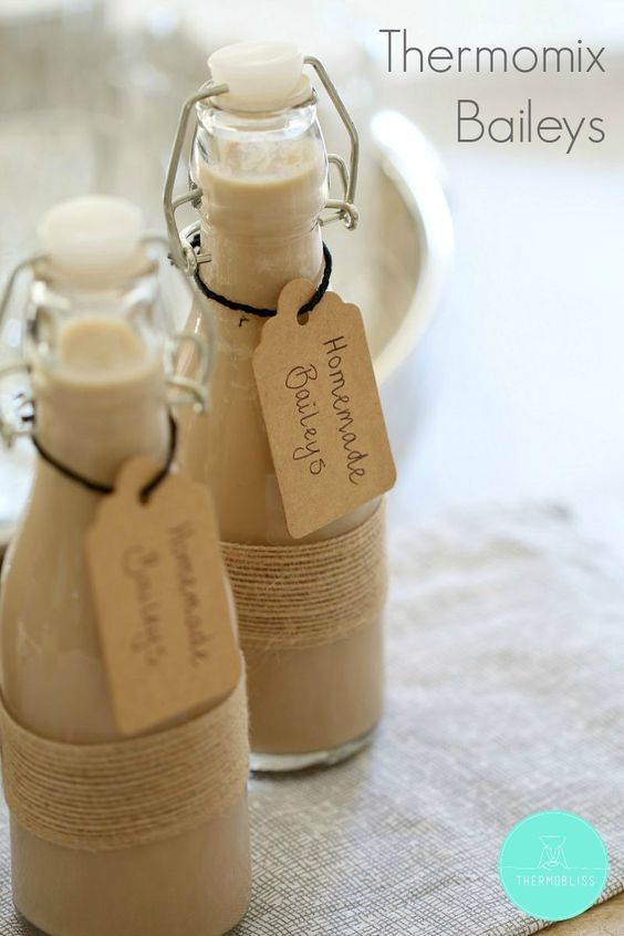 Homemade baileys!! No thermomix required