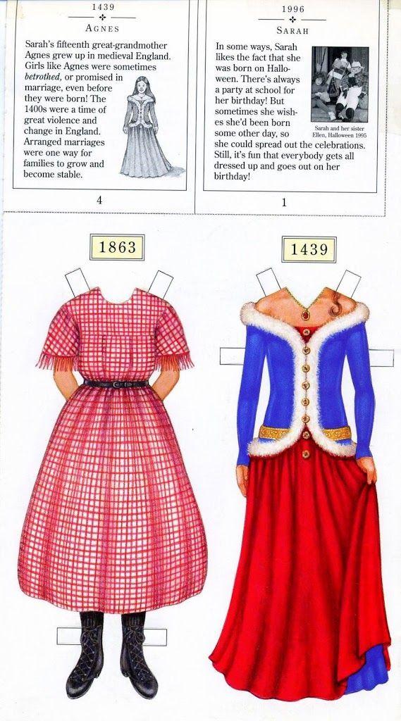 180 Best American Girl Paper Dolls Images On Pinterest