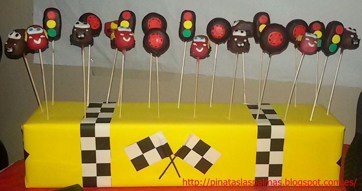 Cake Pops de Cars