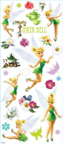 EK Success Disney Tinker Bell Large Classic Stickers