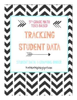 ATTENTION 5th GRADE TEXAS MATH TEACHERS! Finally, Tracking Student Data just for us! This is amazing!