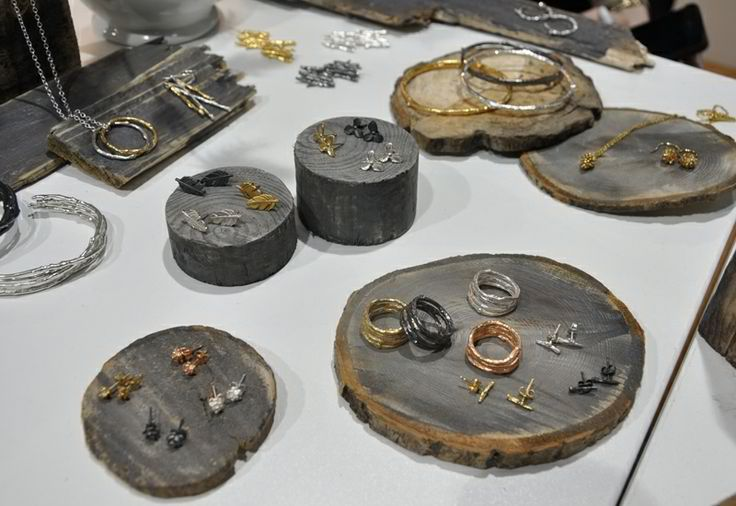 Need some inspiration for displaying your jewelry at your next craft fair?  We can help you with that.  You have created a number of marvelous pieces of jew