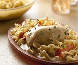 Crockpot Chicken Breasts & Noodles  Weight Watchers