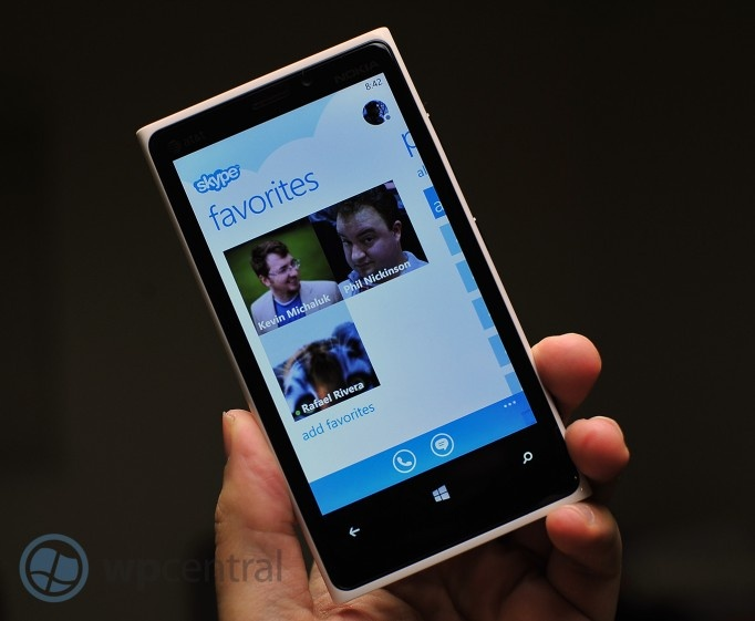 Skype Preview for Windows Phone 8 is now available! Hands on video. | Windows Phone Central