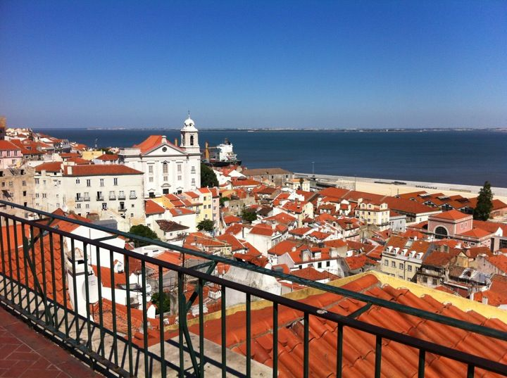 Here you'll have the best view over Alfama
