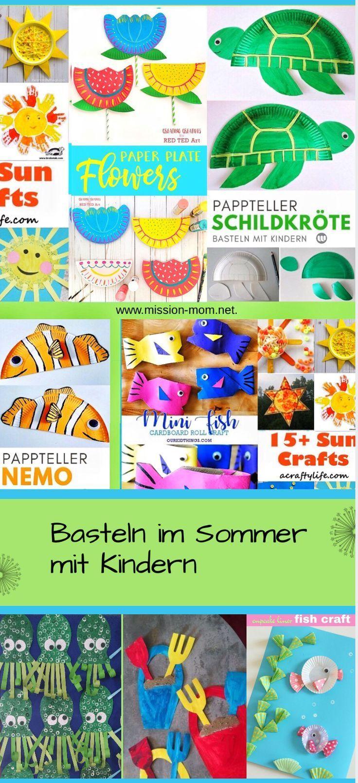 Artesanato com as crianças no verão – grandes idéias, simplesmente implementadas