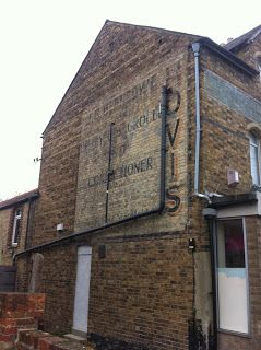 Urban Wandering - ghost sign in Jericho, Oxford #psychogeography