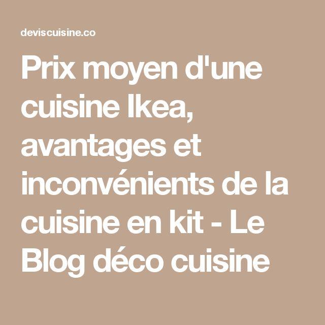 Les Meilleures Idées De La Catégorie Prix Cuisine Ikea Sur - Prix moyen cuisine