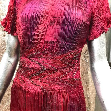 Latest stock in Liberty of London Bespoke Couture Art one-off creations by special order or select from collections in store.  @libertylondon 0423 lauder dress