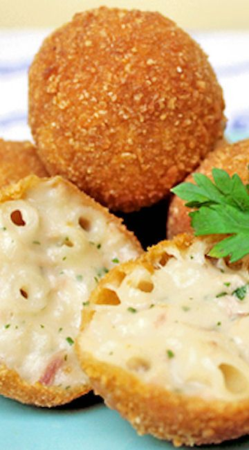 Mac And Cheese Bites...yummy little appetizers that even the children will like!