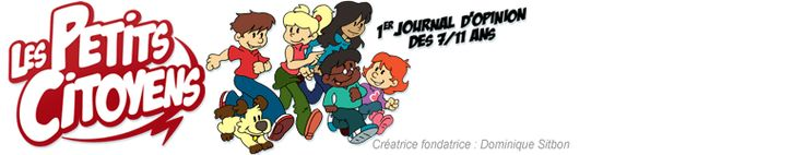 Daily newsletter about world events for children in French.