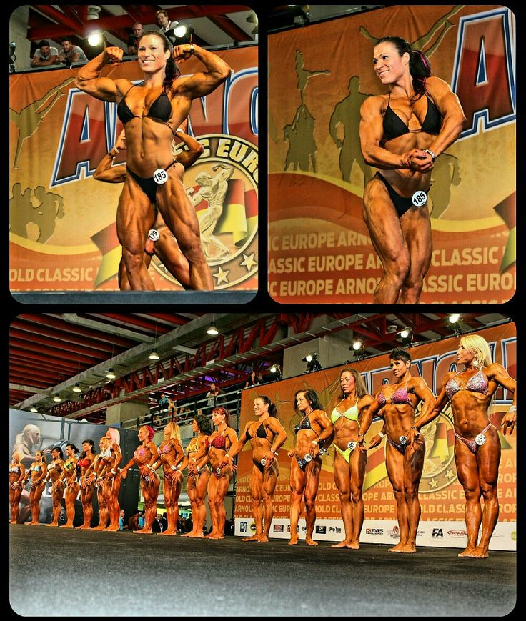 Finally posing  Arnold Classic Madrid 2015 last year  3.place !!!