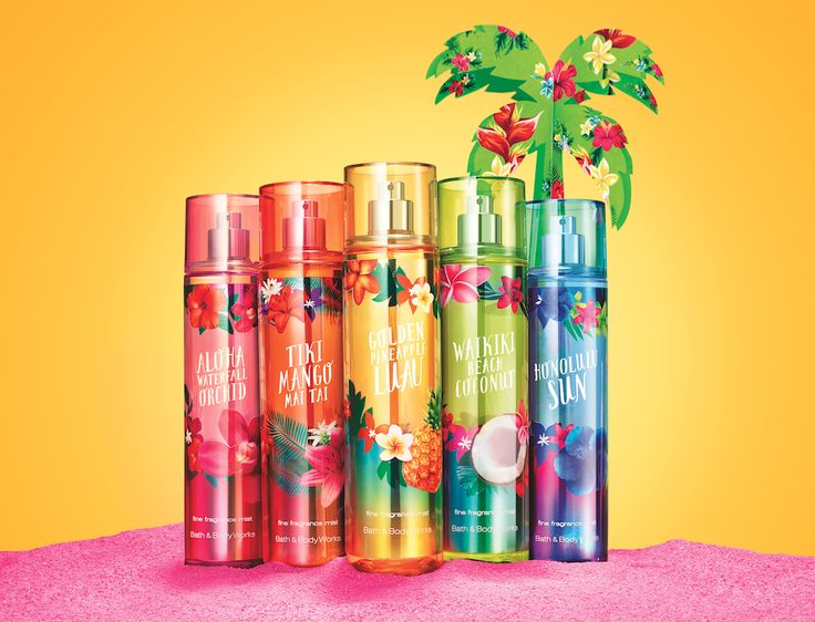 5 NEW hula-perfect fragrances!