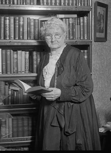 """Mary Harris Jones, known as Mother Jones. Union organizer. """"When a backbone comes into contact with a Winchester, revolution is born."""""""