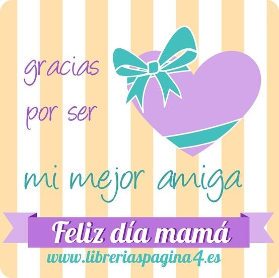 Mother's Day / Día de la madre Etiqueta / Tag