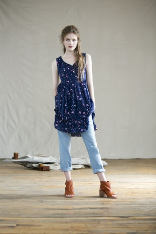 Spring 2013 collection from  Feral Childe - made in the USA of sustainable materials - eco fashion
