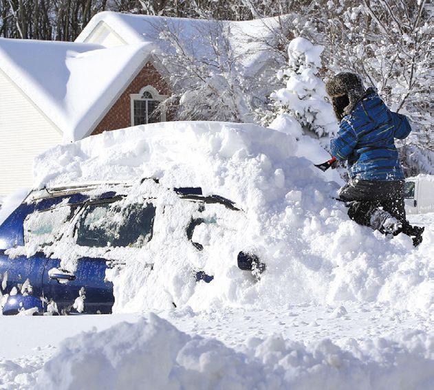 Mueren 8 por tormenta invernal en Estados Unidos