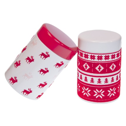 Gorgeous Nordic Christmas Caddies
