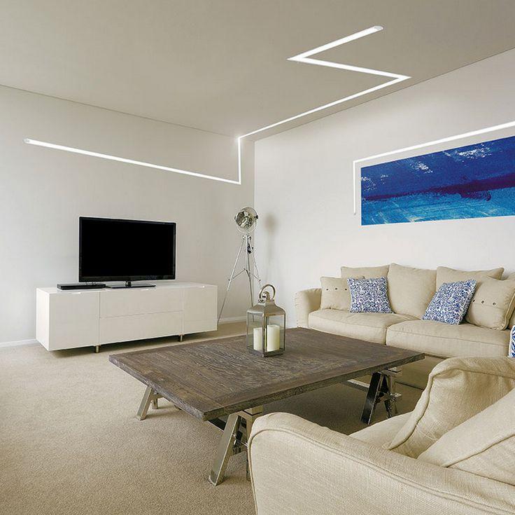 Oltre 25 fantastiche idee su illuminazione casa con led su - Iluminacion de salones ...