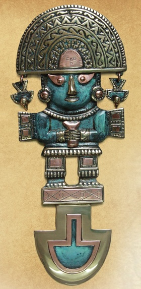 It isn't unusual to find a Tumi (such as this one by NOVICA artisan Angel Franco) hanging on the wall of a Peruvian home – It is thought to bring good luck.. What's your good luck charm?
