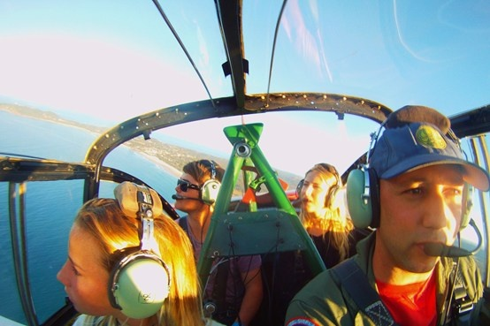 Coastal Reconnaissance Flight with Classic Aero Byron Bay for $375 (25% off)!