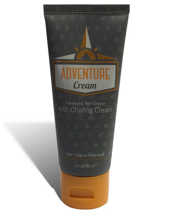 Adventure Cream  anti-chafing cream  2oz tube by WiseOwlProducts