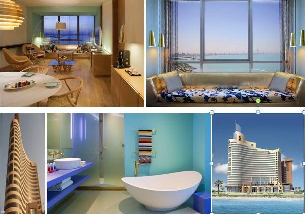 Lavasca bathtub used in Missoni Hotel, in the Emirates