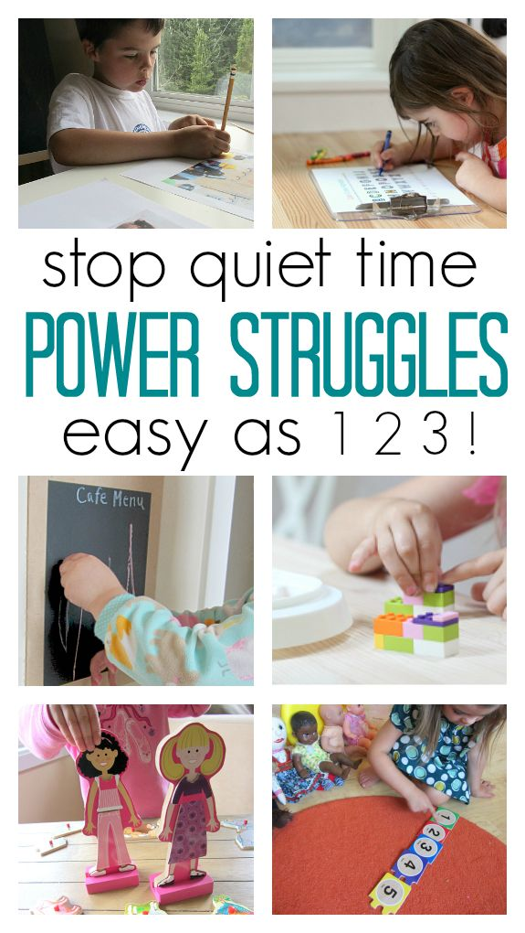 Great tips for all parents who struggle with power struggles at quiet time.