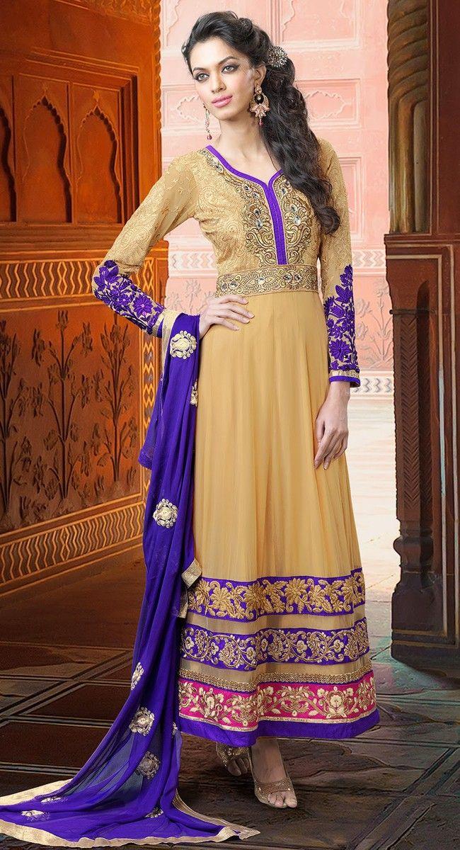 Dazzling Diva Papayawhip Salwar Kameez