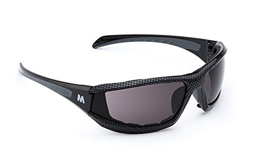 MORR MARRCONI Z75 Sport Sunglasses with Fog ARMORR AntiFog Lenses and Foam Padded Frame for Mountain Biking Cycling Motorcycle Riding Gray Lens  Black Carbon Fiber Frame >>> You can get more details by clicking on the image.Note:It is affiliate link to Amazon.