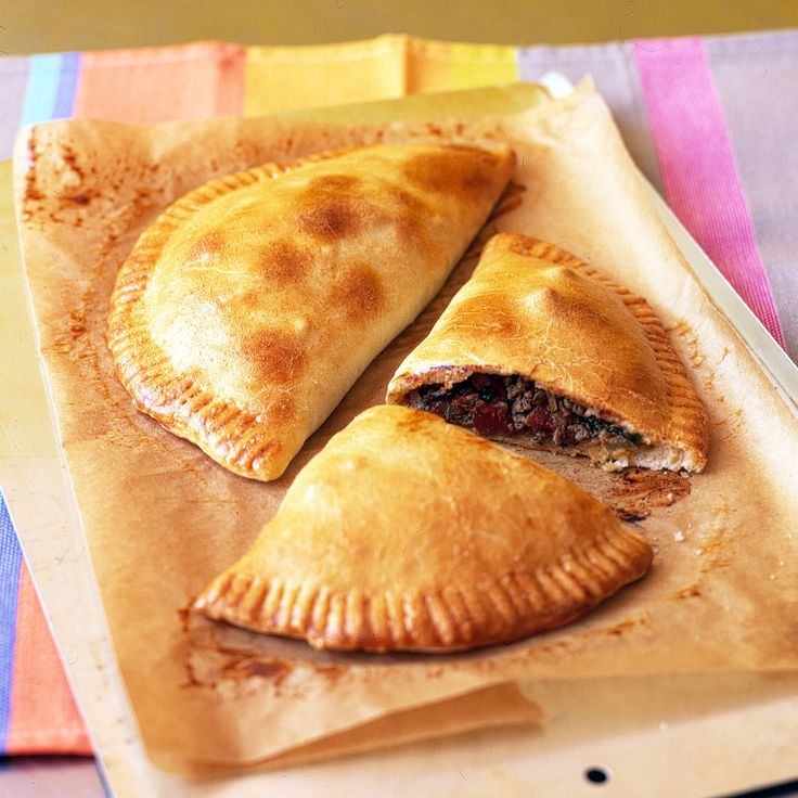 These tasty and convenient Latin-American-style turnovers can be frozen for up to three months, individually wrapped in plastic and placed in resealable plastic bags. There's no need to thaw before baking, they can go right from the freezer to the oven.