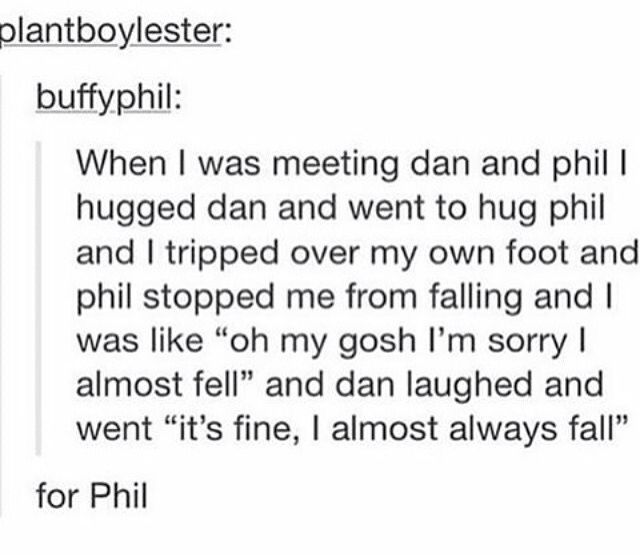 """AND I HAVE HEAR PHILS LITTLE SQUEAK LIKE """"AH!"""" AND DAN OH MY GOD THESE ANGELS ARE RUINING MY LIFE"""