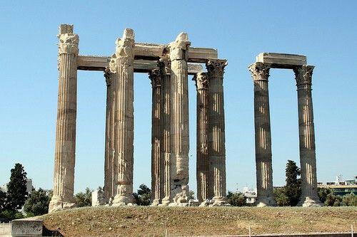 Il santuario di Pandion era un recinto sacro posto al termine della via sacra dell'Acropoli di Atene, appena a sud-est del muro costruito da Cimone (471 a.C.). Era un heroon (luogo sacro dell'eroe) dedicato a Pandione, leggendario re di Atene, e alle feste che si tenevano in suo onore. Il primo santuario risale probabilmente al primo periodo classico, ma fu sostituito da uno nuovo intorno al 430 a.C. Si trattava di un recinto rettangolare a cielo aperto, separato in due parti da un muro
