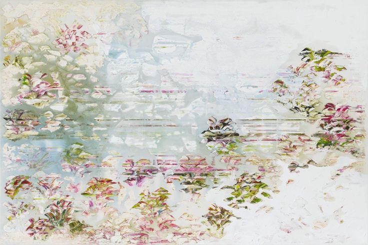 Pleasure Gardens 1, painting by Jessica Zoob