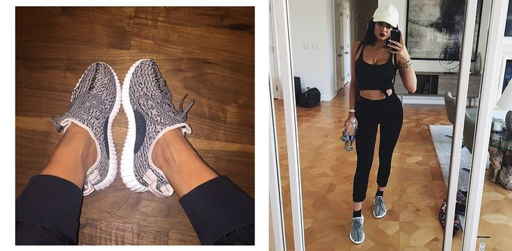 Klare Familiensache! Die Kardashians promoten Kanyes neuste Sneaker