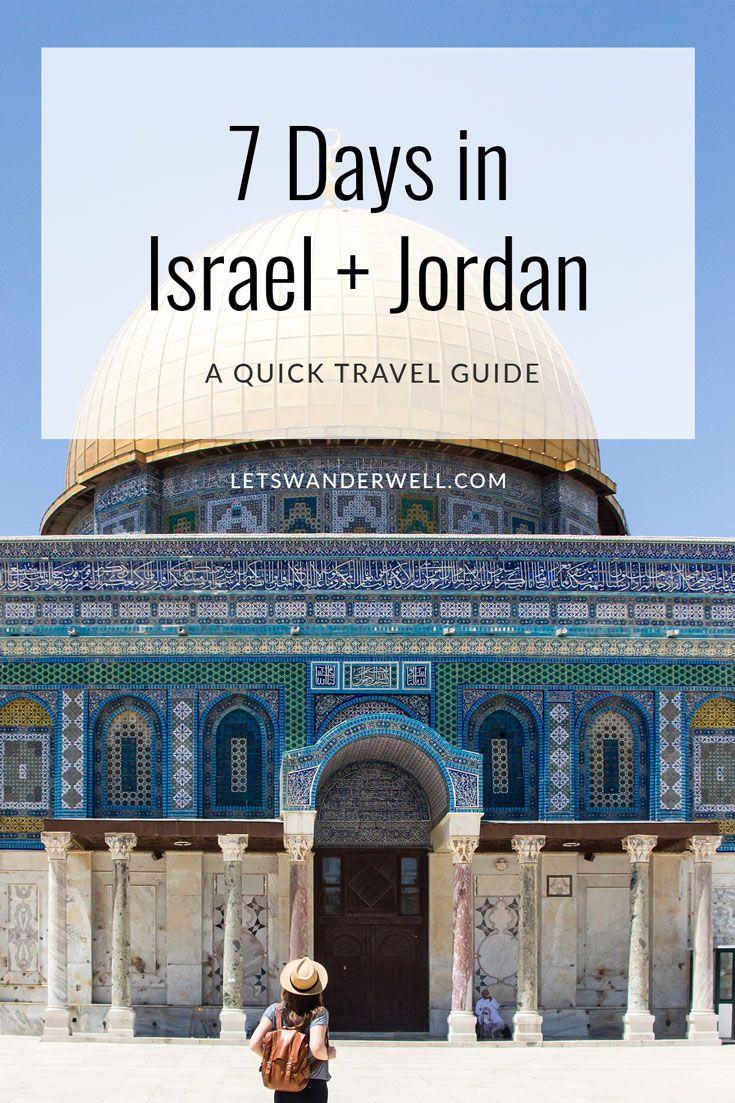 7 Days in Israel and Jordan
