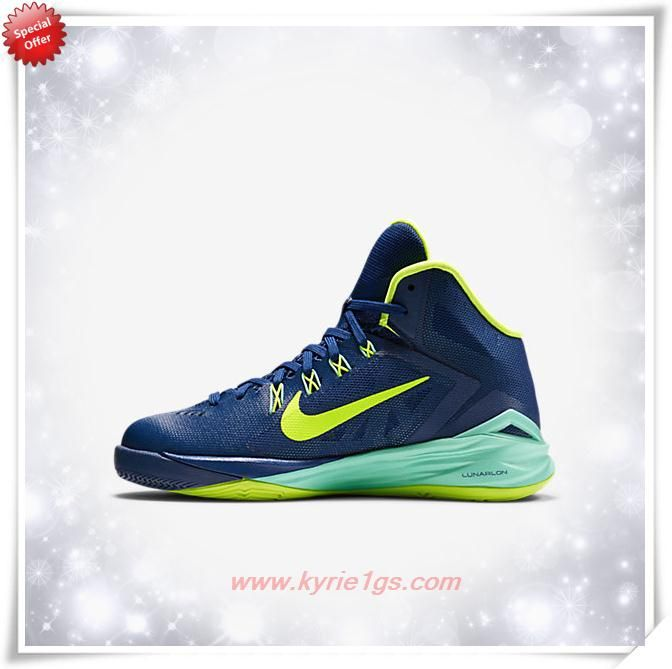 Fast Shipping To Buy Nike Hyperdunk 2014 Gym Blue/Hyper Turquoise/Volt