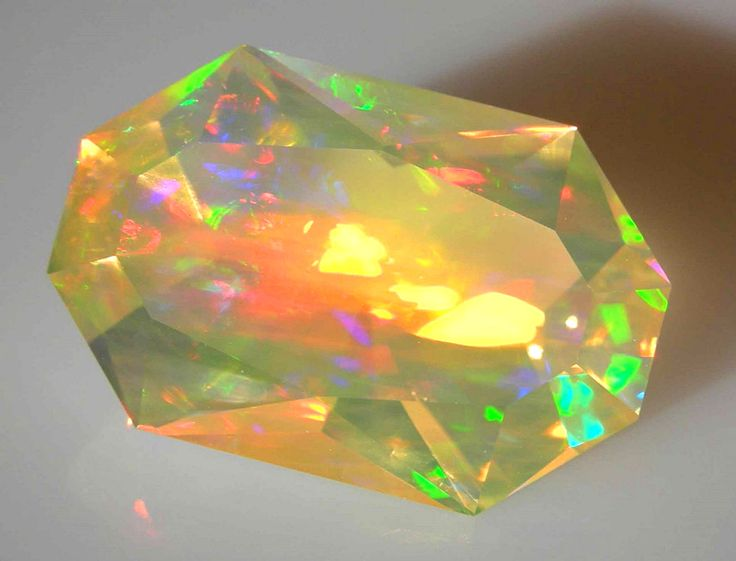 Faceted Crystal Opal Gemstones Opals Crystalopal Gemstones