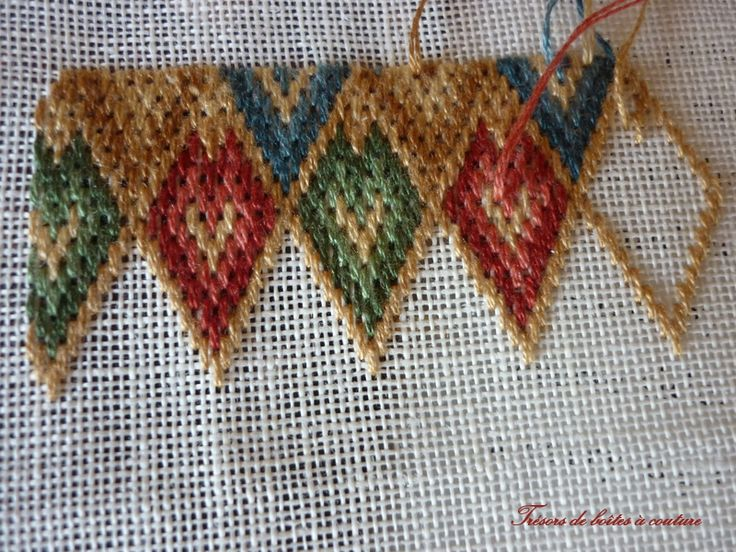 Bargello Needlepoint | Point de Bargello | Needlepoint