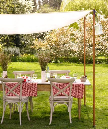 Dining alfresco is about gathering family, entertaining friends, and escaping from your typical daily routine. Any rules to follow? Be smart about your outdoor style and choose weather-resistant furniture, coverage from the sun, and a solid base for setting up your table