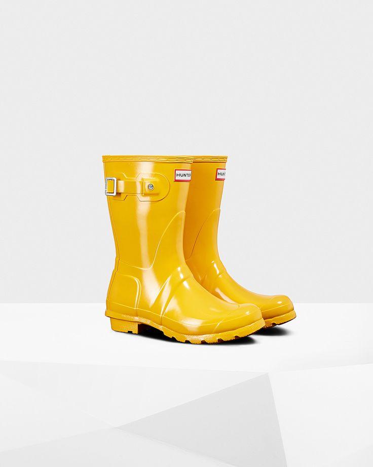 Women's Original Short Gloss Rain Boots In 2019
