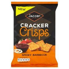 Jacobs Cracker Crisp Smokey Bbq 150G