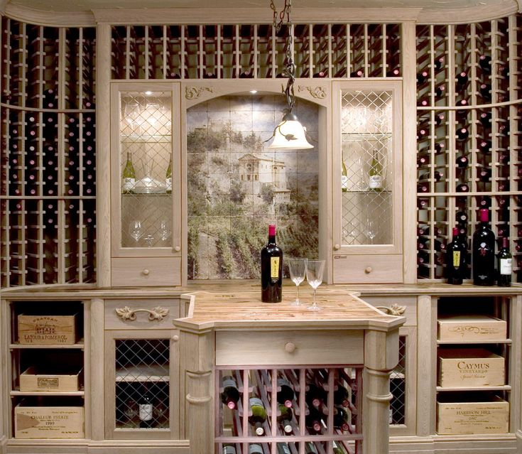 15 best tile murals for wine cellars images on pinterest Home wine cellar design