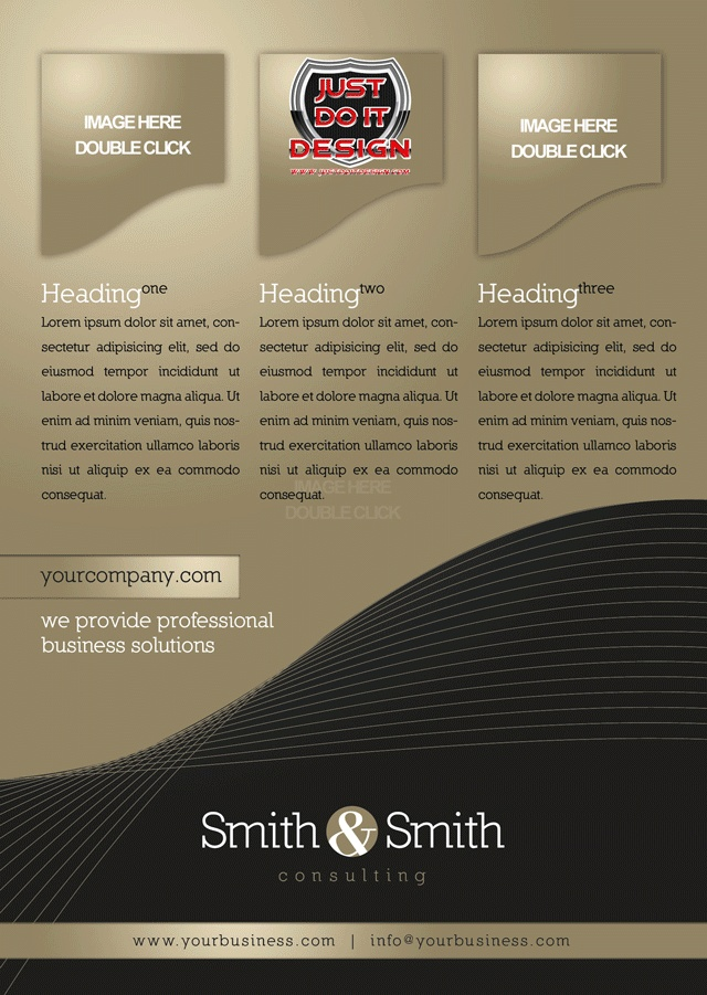 Clean Marketing Product Flyer Templates With Unique Style For Your