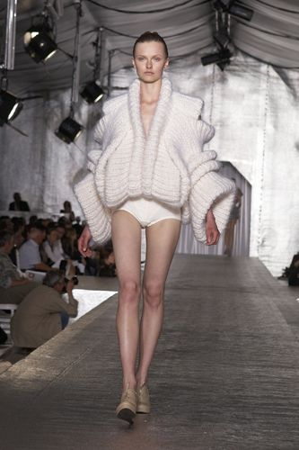 Sandra Backlund Couture Knits.