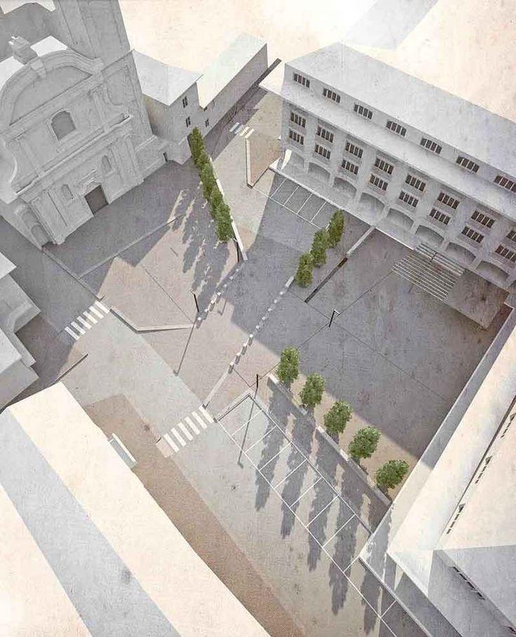 Valorizzazione piazza Sant'Ambrogio. Vanzaghello LANDALAB