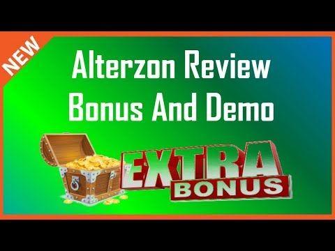 Alterzon Review | Demo Plus Huge Alterzon Bonus - YouTube