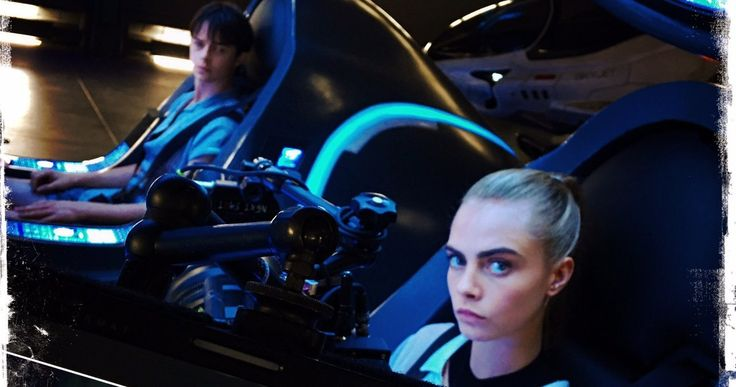Luc Besson Sci-Fi Thriller 'Valerian' Set Photos Emerge -- Director Luc Besson has shared a slew of new set photos with Dane DeHaan and Cara Delevingne from the set of 'Valerian'. -- http://movieweb.com/valerian-city-thousand-planets-set-photos-luc-besson/