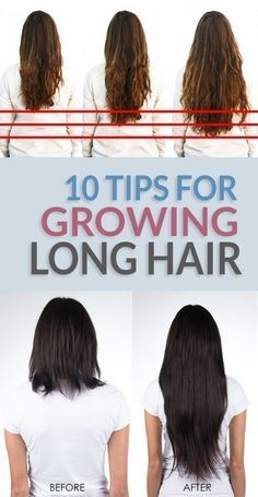 10 Simple Tips For Making Your Hair Grow Faster and Longer